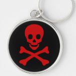 Skull and Crossbones Keychain