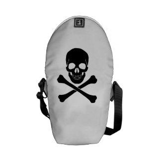 Skull And Crossbones Courier Bag