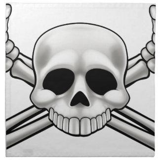 Skull and Crossbones Napkin