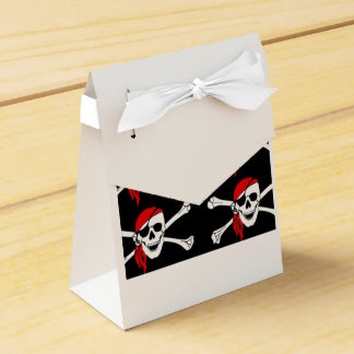 Skull and Crossbones Party Favour Boxes