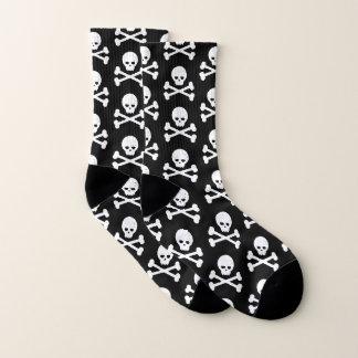 Skull and Crossbones Pattern Socks