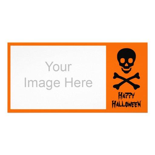 Skull and Crossbones Photo Greeting Card