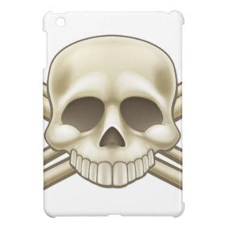 Skull and Crossbones Pirate Sign iPad Mini Cases