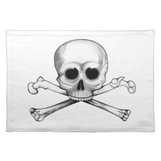 Skull and Crossbones Placemat