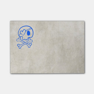 Skull and Crossbones Post-it® Notes