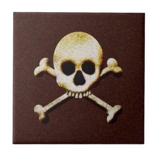 Skull And Crossbones Tile