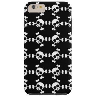 Skull and Crossbones Tough iPhone 6 Plus Case