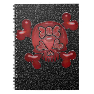 Skull and Crossbones Urban Composition Notebook