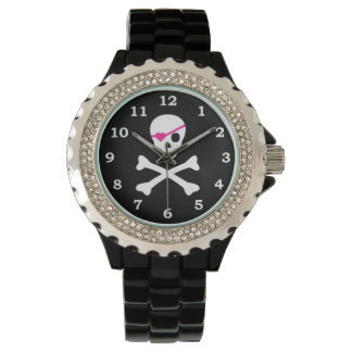 Skull and Crossbones Wristwatches