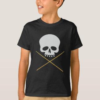 Skull and Drumstick Crossbones T-shirt