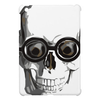 Skull and glasses case for the iPad mini
