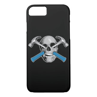 Skull and Hammers v3 iPhone 7 Case