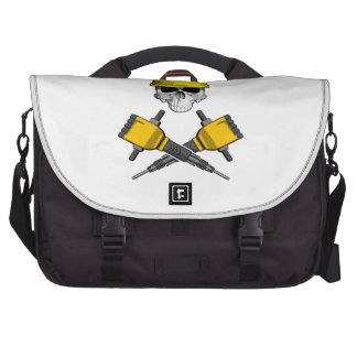 Skull and Jackhammers 2 Bags For Laptop