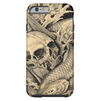 Skull and Koi Tough iPhone 6 Case