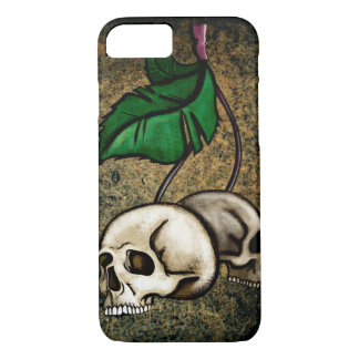 Skull and Leafs iPhone 7 case