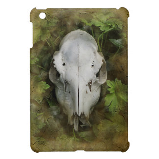Skull and Leaves iPad Mini Cover
