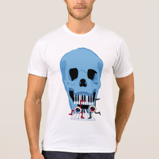 Skull and Musical Note Eyes T-Shirt