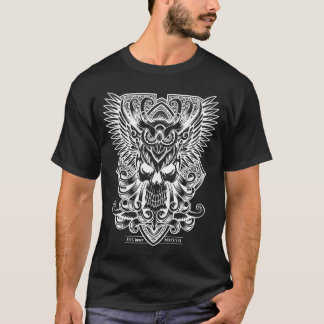 Skull and Owl T-Shirt