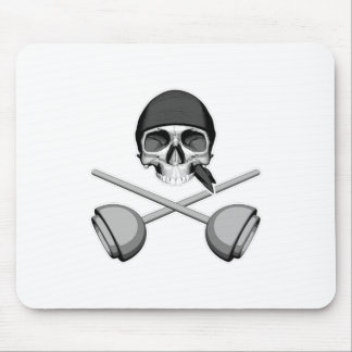 Skull and Plungers Mouse Pad