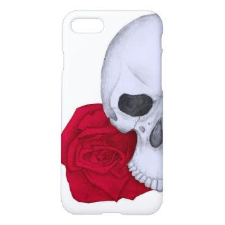 Skull and Red Roses iPhone 8/7 Case