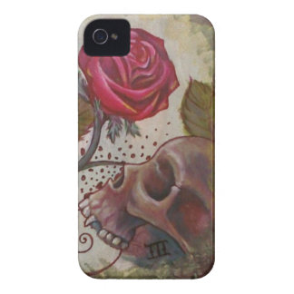 skull and Rose Case-Mate iPhone 4 Case