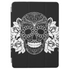 Skull And Roses, Black And White Day Of The Dead iPad Air Cover