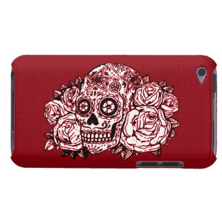 Skull and Roses Case-Mate iPod Touch Case