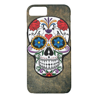 Skull and Roses iPhone 7 case