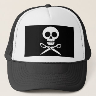 Skull and Scissors Hat