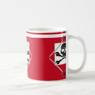 SKULL AND SWORD CREST COFFEE MUG