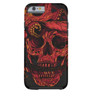 Skull and the Fishes Iphone 6 Case Tough iPhone 6 Case