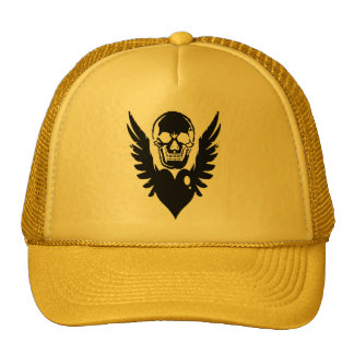 Skull And wing Mesh Hats