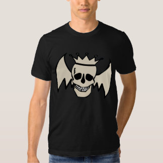 Skull and Wings Tee Shirts