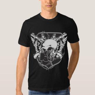 Skull and Wings Tees