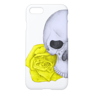Skull and Yellow Roses iPhone 8/7 Case