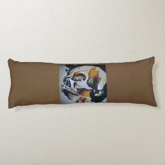 Skull Art Horizontal Throw Pillow