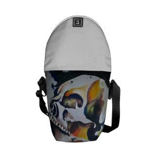 Skull Art Messenger Pack Courier Bags