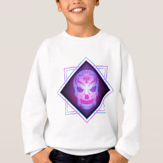 skull art sweatshirt