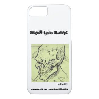 Skull artwork by CDL iPhone 8/7 Case