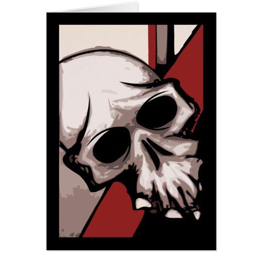 Skull B&R Card