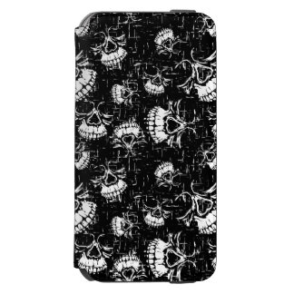 skull background incipio watson™ iPhone 6 wallet case