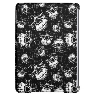 skull background iPad air cover