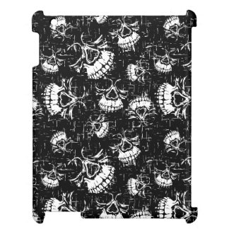 skull background iPad case