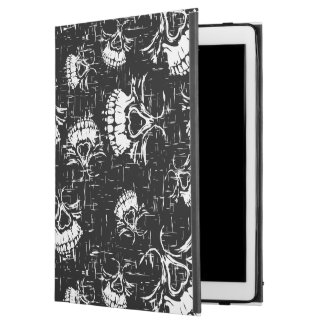 "skull background iPad pro 12.9"" case"