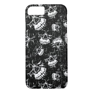 skull background iPhone 8/7 case