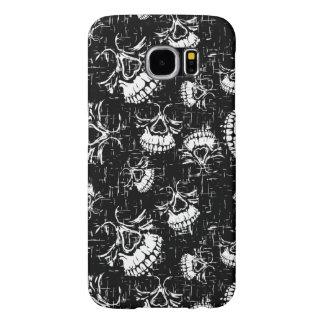 skull background samsung galaxy s6 cases