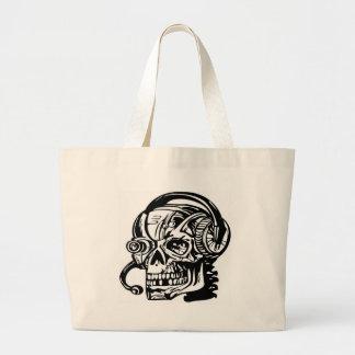 Skull Canvas Bags