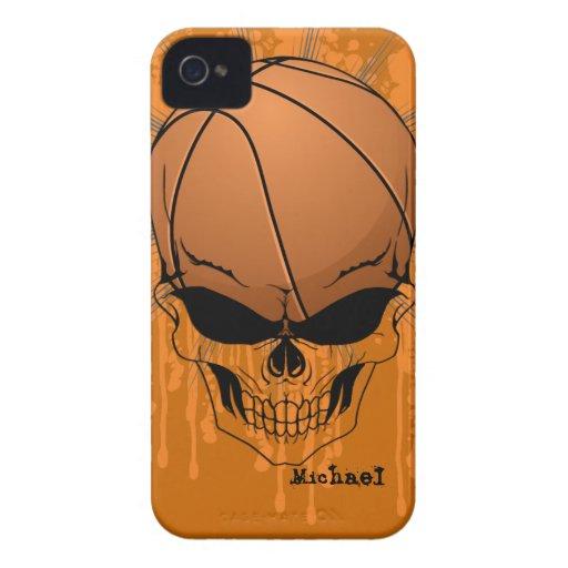 Skull Basketball Blackberry Bold Case