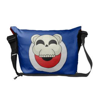 Skull Bear Messenger Bags