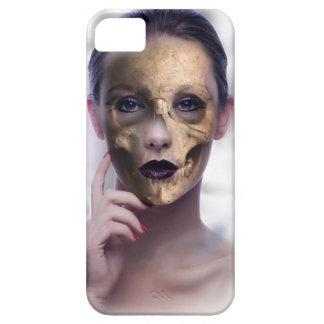 Skull Beauty Model Face Skeleton iPhone 5 Case